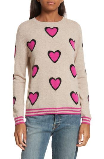 CHINTI & PARKER Heart Burst Cashmere Sweater