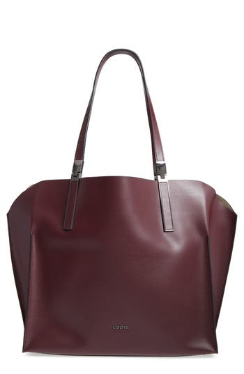 Silicon Valley Collection Under Lock & Key   Anita Rfid East/West Leather Satchel by Lodis