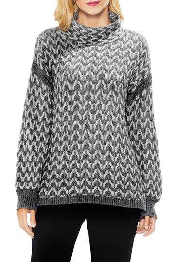 Vince Camuto Cable Turtleneck Sweater