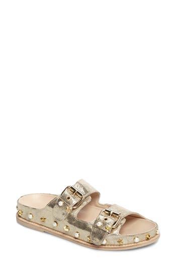 Stuart Weitzman Sandbar Studded Slide Sandal (Women)