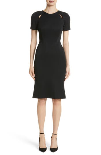 Zac Posen Keyhole Jersey Dress