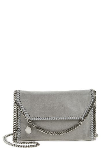Stella McCartney Mini Falabella Shaggy Deer Faux Leather Shoulder Bag