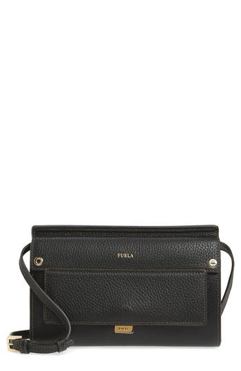 Furla Mini Like Leather Cr..