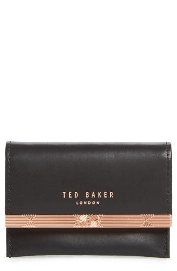Niccole Accordion Leather Card Case by Ted Baker London