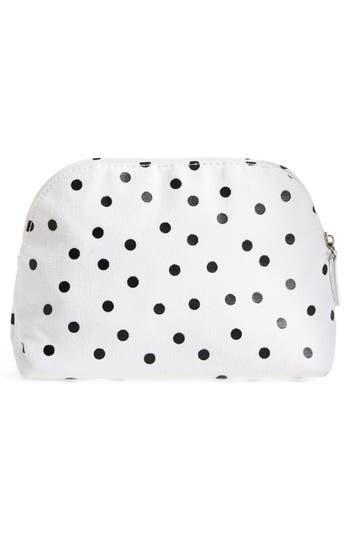 Alternate Image 4  - Itsa Girl Thing 'I Need Mascara' Polka Dot Cosmetic Case