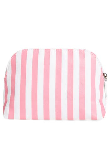 Alternate Image 4  - Itsa Girl Thing 'I Need Lipstick' Stripe Cosmetics Case
