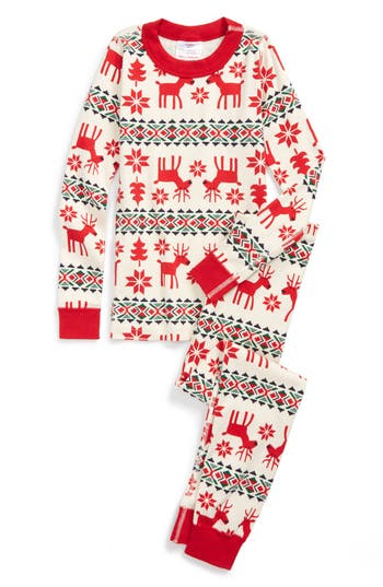 Hanna Andersson Holiday Dear Deer Organic Cotton Two