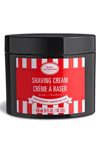 'Peppermint Essential Oil' Shaving Cream,                             Main thumbnail 1, color,                             No Color
