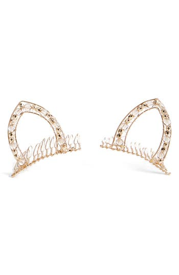 Berry Cat Ear Combs Set Of 2 Nordstrom