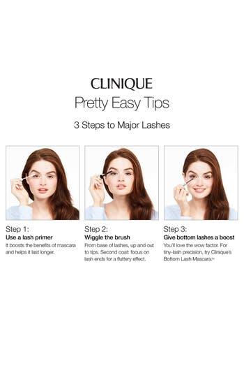 Alternate Image 2  - Clinique Bottom Lash Mascara