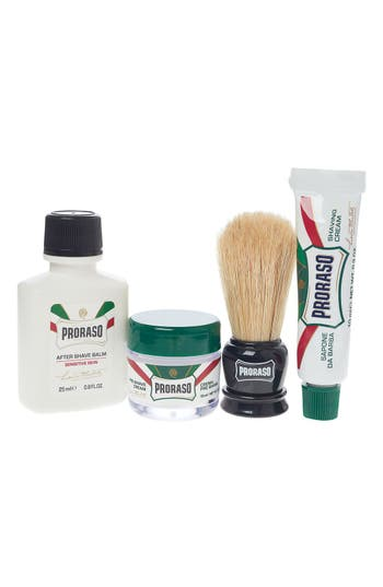 Alternate Image 2  - C.O. Bigelow® Proraso Shave Travel Kit (Limited Edition) ($19 Value)