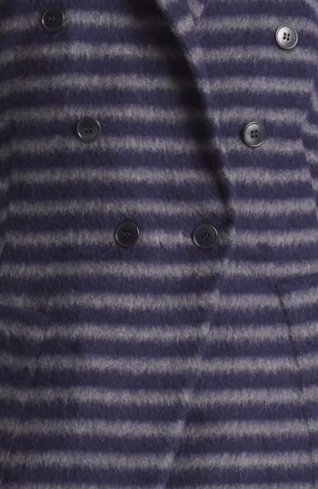 Alternate Image 3  - Band of Outsiders Double Breasted Stripe Coat