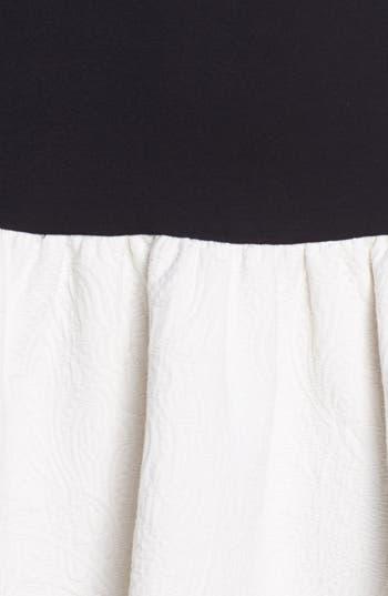 Alternate Image 3  - ERIN erin fetherston Mixed Media Fit & Flare Dress