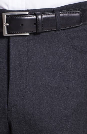 Alternate Image 3  - Canali Five Pocket Wool Trousers
