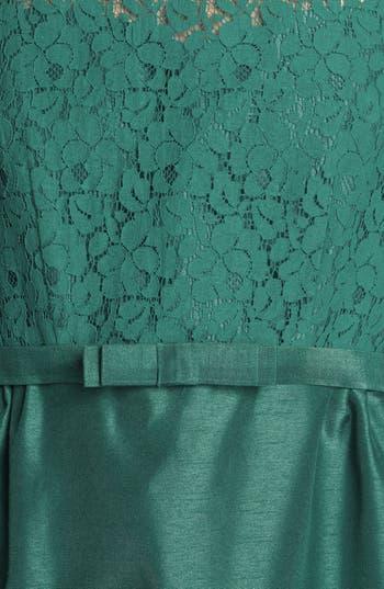 Alternate Image 3  - Taylor Dresses Lace & Satin Sheath Dress