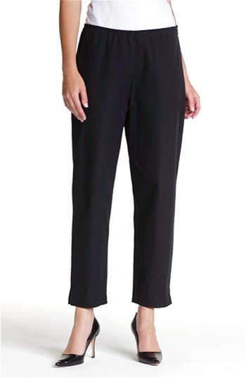 Organic Stretch Cotton Twill Ankle Pants, video thumbnail