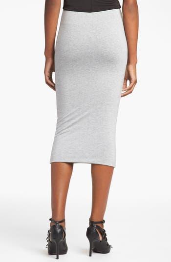 Alternate Image 2  - Topshop Midi Tube Skirt