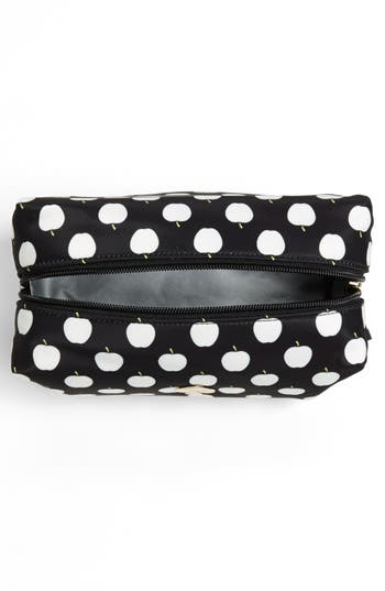 Alternate Image 3  - kate spade new york 'flatiron - davie large' cosmetics bag