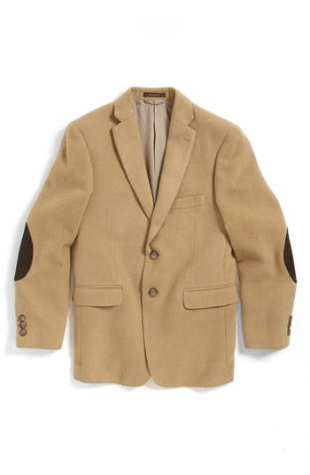 Hickey Freeman Camel Hair Sport Coat Big Boys Nordstrom