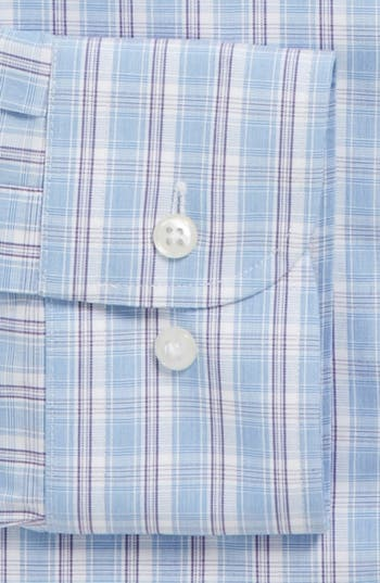 Alternate Image 2  - Nordstrom Smartcare™ Wrinkle Free Trim Fit Dress Shirt