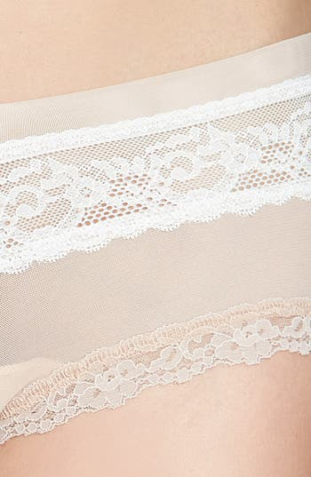Alternate Image 3  - Hanky Panky 'Sheer Indulgence' Lace Trim Boyshorts