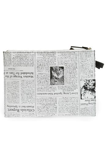 Alternate Image 4  - kate spade new york 'new york journal' zip top pouch