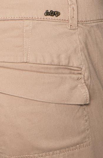 Alternate Image 3  - Jolt Cargo Pocket Crop Pants (Juniors) (Online Only)