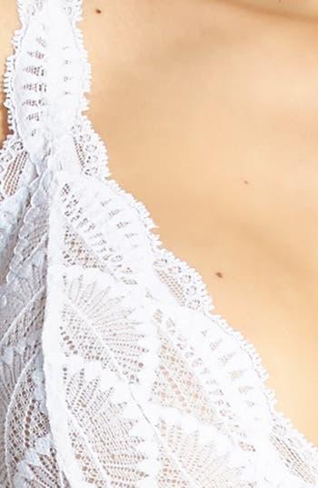 'Matilda' Lace Bralette,                             Main thumbnail 1, color,                             White