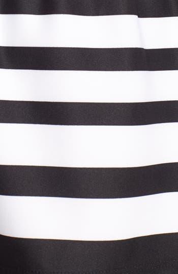 Alternate Image 3  - PPLA Button Back Stripe Skirt (Juniors)