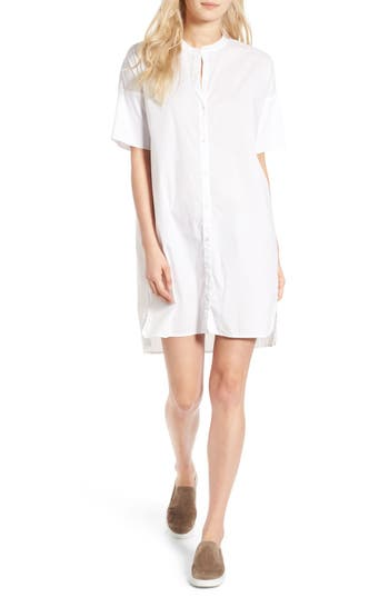 James Perse Rolled Sleeve Shirtdress