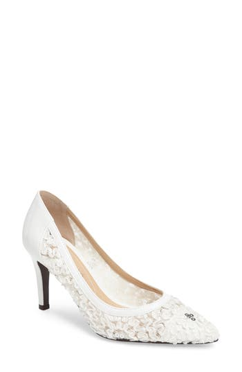 J. Rene? Camellia Pointy Toe Pump (Women)