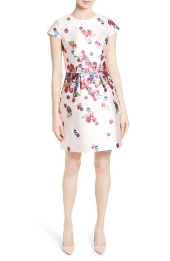 Ted Baker London Ibia Floral Print Sheath Dress Nordstrom