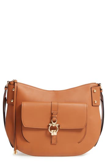 Salvatore Ferragamo Calfskin Leather Hobo