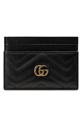 Gucci GG Marmont Matelass? Leather Card Case
