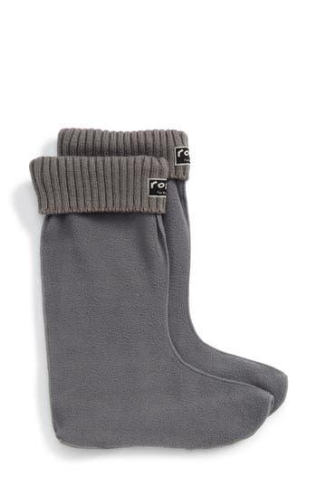 roma Knit Cuff Fleece Boot Socks
