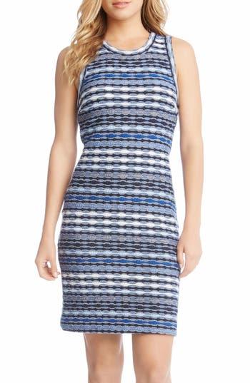 Karen Kane Jacquard Sheath Dress