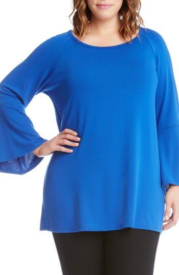 Karen Kane Bell Sleeve Swing Sweater (Plus Size)
