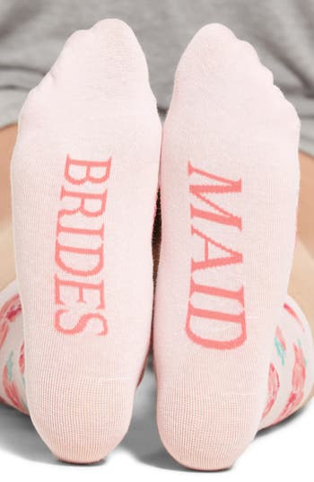 SOCKART Bridesmaid Crew Socks