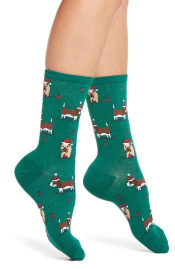 Hot Sox Christmas Doggies ..