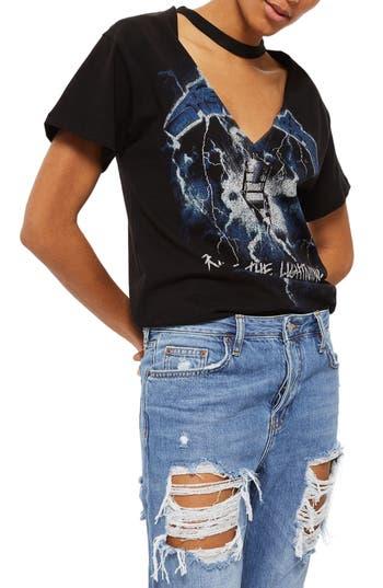Topshop Hayden Cheeky Rip Boyfriend Jeans