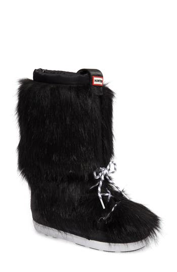 Hunter Snow Original Faux Fur Boot (Women)