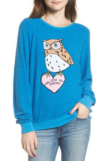 Dream Scene Owl Love You Forever Sweatshirt