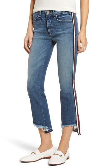 McGuire Ibiza Crop Straight Leg Jeans (Talamanca)