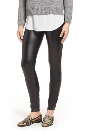 Oroblu Plush Lined Faux Leather Leggings