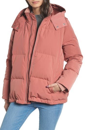 Madewell Quilted Down Puffer Jacket