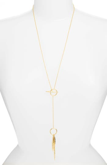 Nora Toggle Necklace in Gold Gorjana hhRJq