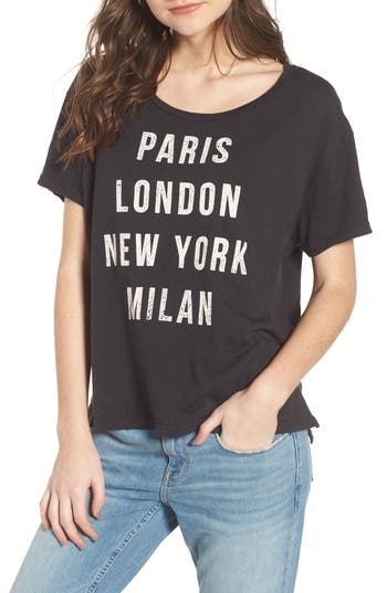 Runway Destinations Tee by Sundry