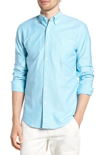 J.Crew Slim Fit Stretch Pima Cotton Oxford Shirt by J. Crew