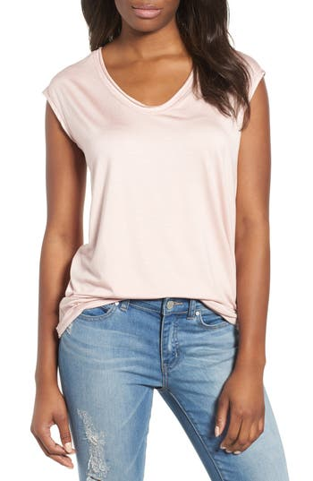 Off Duty Sleeveless Stretch Knit Top by Caslon®
