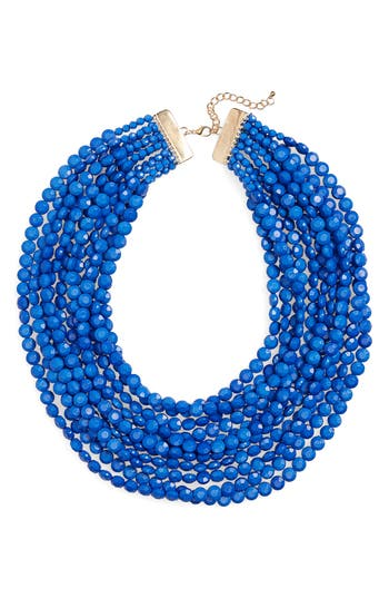 Multilayer Stone Necklace by Cara